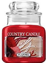 Духи, Парфюмерия, косметика Ароматическая свеча в банке - Country Candle Flannel