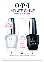 Духи, Парфюмерия, косметика Набор, IST10+IST30 - O.P.I Infinite Shine Duo Pack (polish/2*15/ml)