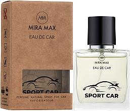 Духи, Парфюмерия, косметика Ароматизатор для авто - Mira Max Eau De Car Sport Car Perfume Natural Spray For Car Vaporisateur