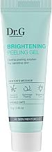 Духи, Парфюмерия, косметика Освежающий пилинг-гель для кожи лица - DR.G Brightening Peeling Gel (мини)