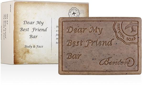 """Очищающее мыло для лица и тела """"Мой дорогой лучший друг"""" - Benton Dear My Best Friend Bar Body & Face"""