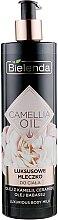 Духи, Парфюмерия, косметика Молочко для тела - Bielenda Camellia Oil Luxurious Body Milk