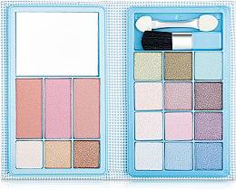 Духи, Парфюмерия, косметика Палетка для макияжа, голубая - Ruby Rose Palette Blue