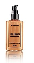 Духи, Парфюмерия, косметика Шиммер для тела - Mr.Scrubber Body Shimmer Bronze