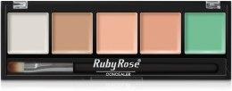Парфумерія, косметика Набір консилерів для обличчя - Ruby Rose Concealer for Face