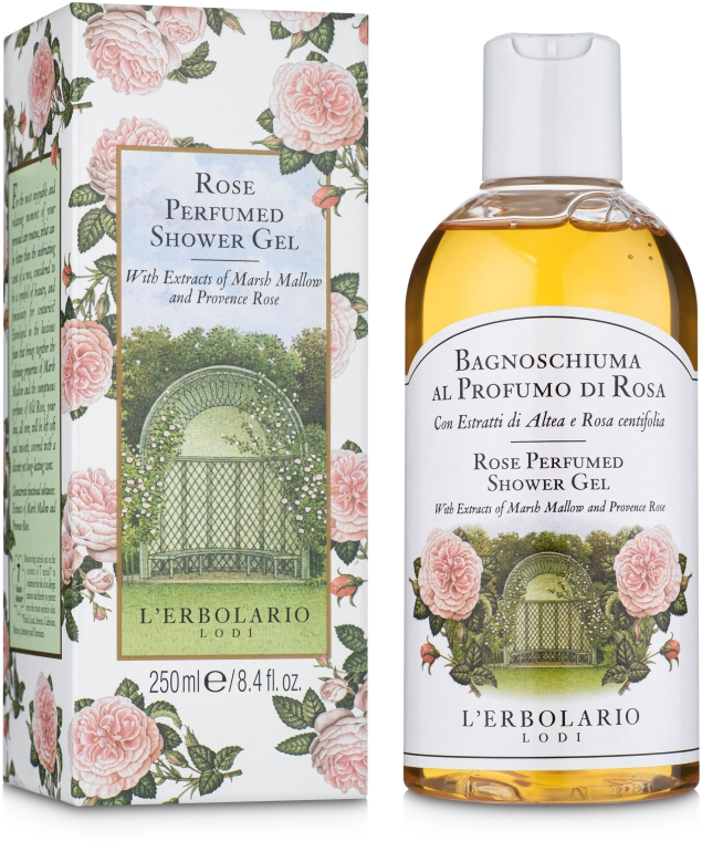 """Пена для ванны-гель для душа """"Роза"""" - L'Erbolario Bagnoschiuma al Profumo di Rosa"""
