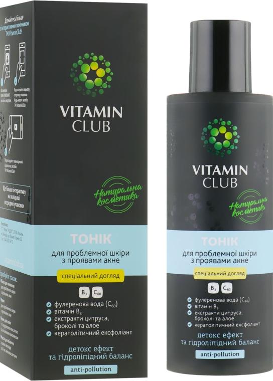 Тоник для проблемной кожи лица с проявлениями акне - VitaminClub