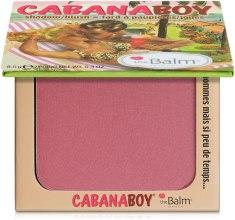 Духи, Парфюмерия, косметика Тени-румяна - theBalm Shadow-Blush Cabana Boy