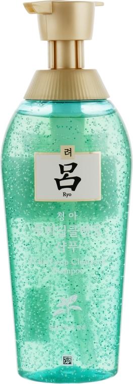 Шампунь для контроля жирности волос - Ryo Scalp Deep Cleansing Shampoo