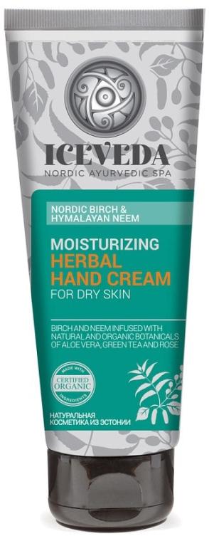 Крем для рук - Iceveda Nordic Birch&Hymalayan Neem Moisturizing Herbal Hand Cream