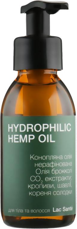 Гидрофильное конопляное масло для тела и волос - Lac Sante Nature Power Hydrophilic Hemp Oil