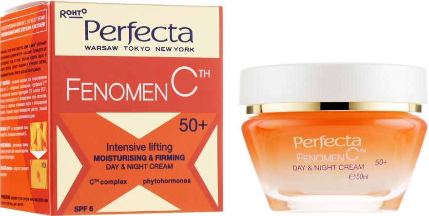 Крем-лифтинг увлажняющий для лица - Perfecta Fenomen C Cream 50+ Spf 6