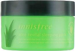 Духи, Парфюмерия, косметика Увлажняющая ночная маска с алоэ - Innisfree Aloe Revital Sleeping Pack