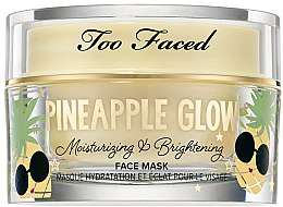 Духи, Парфюмерия, косметика Маска для лица - Too Faced Pineapple Glow Moisturising and Brightening Face Mask