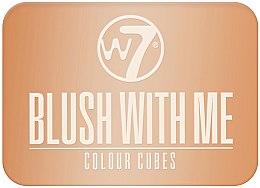 Духи, Парфюмерия, косметика Румяна - W7 Cosmetics Blush With Me Color Cubes