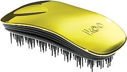 Духи, Парфюмерия, косметика Расческа для волос - Ikoo Home Black Soleil Metallic