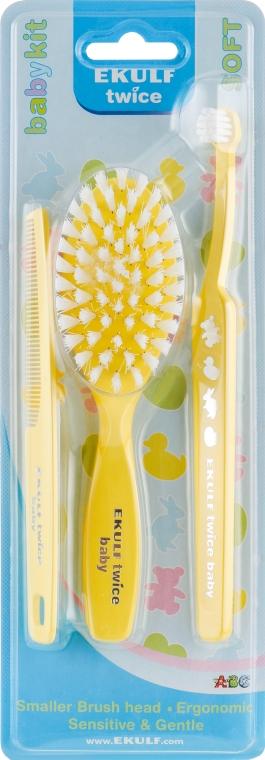Набор, желтый - Ekulf Twice Baby Kit