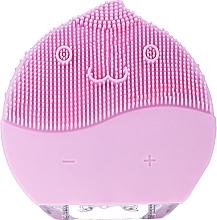 Духи, Парфюмерия, косметика Щетка для очищения лица, BR-030, розовая - Lewer Facial Cleansing Brush Pink