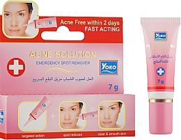 Духи, Парфюмерия, косметика Крем против акне для лица - Yoko Acne Solution Creme