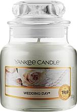 Духи, Парфюмерия, косметика Ароматическая свеча в банке - Yankee Candle Large Jar Wedding Day