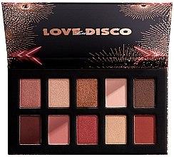 Духи, Парфюмерия, косметика Палетка теней для век - NYX Professional Makeup Love Lust Disco Shadow Palette