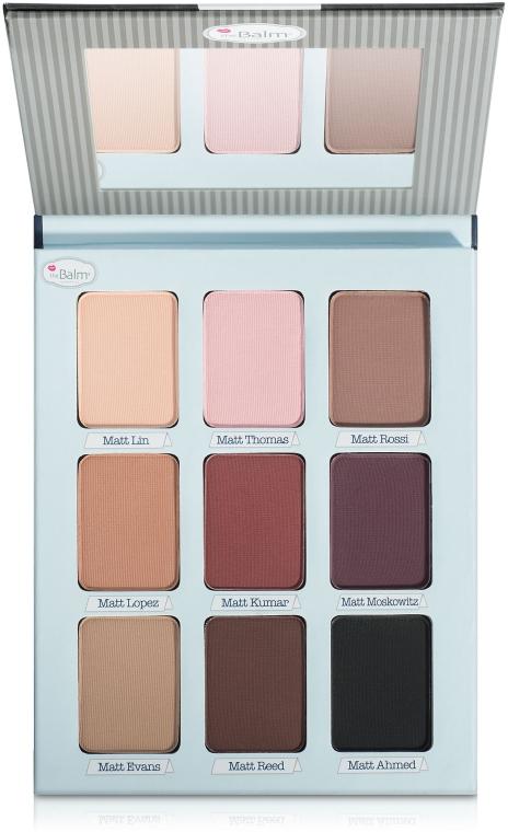 Палетка теней - theBalm Palettes Meet Matte Trimony Eyeshadow Palette