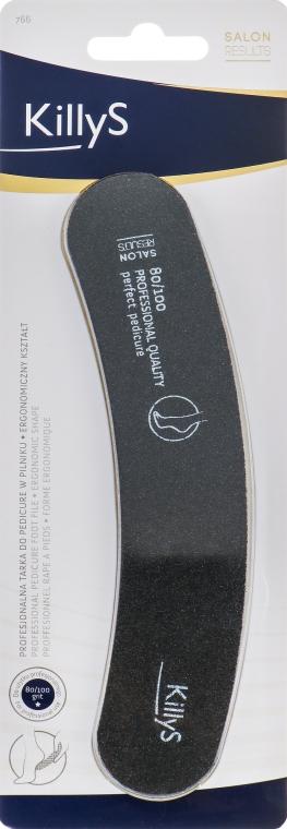 Пилочка педикюрная 80/100, 963766 - KillyS Pedicure Nail File — фото N1