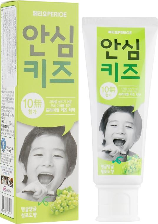 """Детская зубная паста """"Виноград"""" - LG Household & Health Perioe Safe Kids"""