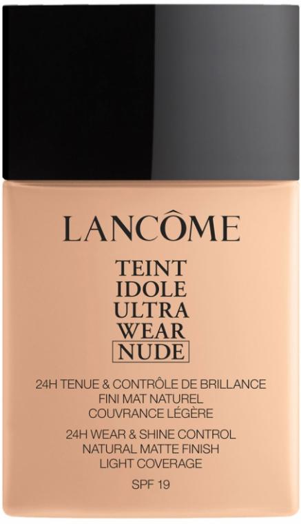 Лёгкий тональный крем - Lancome Teint Idole Ultra Wear Nude SPF 19