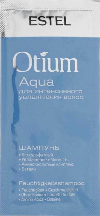 Шампунь для интенсивного увлажнения волос - Estel Professional Otium Aqua (пробник)