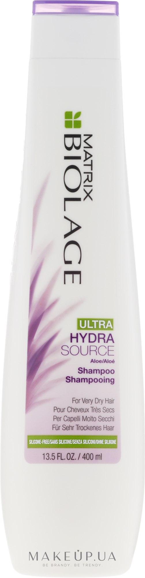 Шампунь для увлажнения очень сухих волос - Biolage Ultra Hydrasource Shampoo — фото 400ml