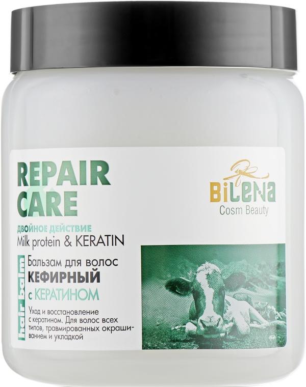 """Бальзам для волос """"Кефирный"""" с кератином для окрашенных волос - Bilena Milk Protein & Keratin"""