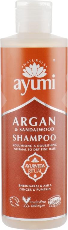 Шампунь - Ayumi Argan & Sandalwood Shampoo