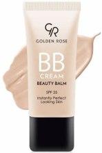 Духи, Парфюмерия, косметика Тональный крем-бальзам - Golden Rose BB Cream Beauty Balm