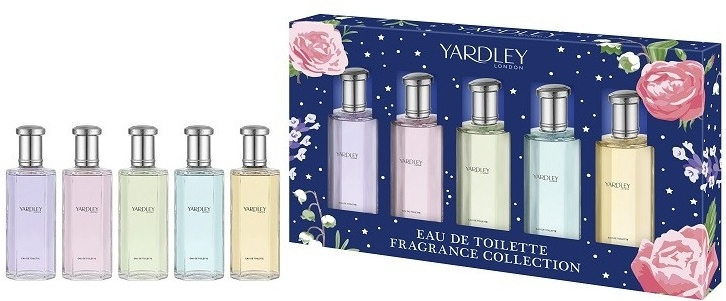 Yardley Fragrance Collection - Набор (5xedt/10ml)