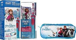 Духи, Парфюмерия, косметика Детская электрическая зубная щетка с пеналом - Oral-B Frozen Toothbrush