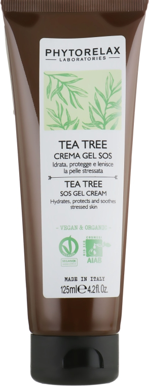 "Крем-гель ""SOS"" - Phytorelax Laboratories Tea Tree SOS Cream Gel"
