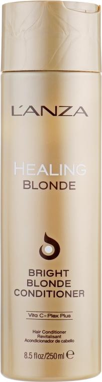 Целебный кондиционер для натуральных и обесцвеченных светлых волос - L'anza Healing Blonde Bright Blonde Conditioner