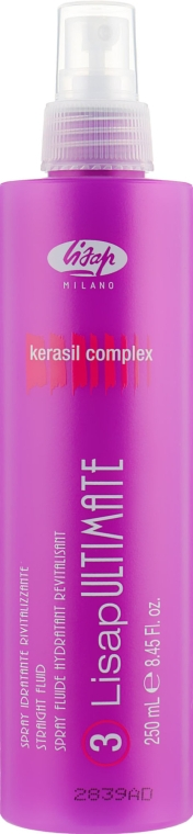 Распрямляющий флюид с функцией термозащиты - Lisap Ultimate Plus Straight Fluid