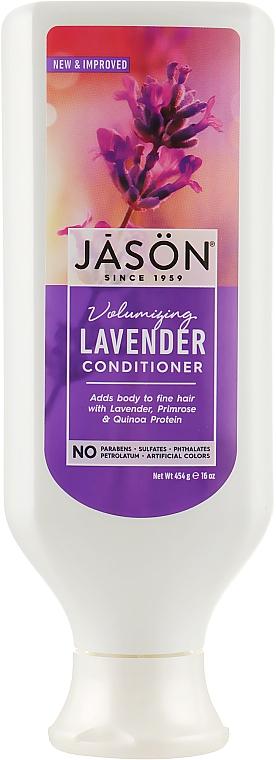 """Кондиционер для волос экстрактом """"Лаванды"""" - Jason Natural Cosmetics Lavender Hair Strengthening Conditioner"""