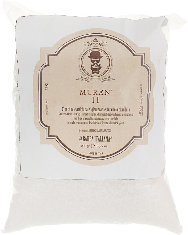 Соль дезинфицирующая для кожи головы - Barba Italiana Muran 11
