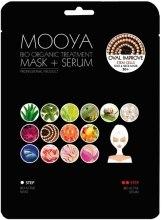 Духи, Парфюмерия, косметика Маска + сыворотка со стволовыми клетками - Beauty Face Mooya Bio Organic Treatment Mask + Serum