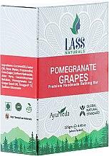 "Духи, Парфюмерия, косметика Мыло ручной работы ""Гранат и виноград"" - Lass Naturals Pomegranate & Grapes Soap"