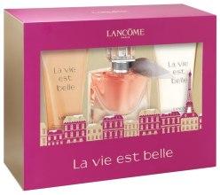 Духи, Парфюмерия, косметика Lancome La Vie Est Belle - Набор (edp/30ml + sh/gel/50ml + b/lot/50ml)