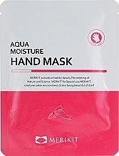 Духи, Парфюмерия, косметика Увлажняющая маска для рук - Merikit Aqua Moisture Hand Mask