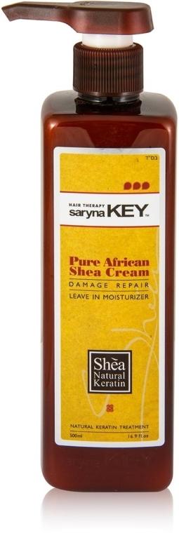 Увлажняющий крем для волос - Saryna Key Damage Repair Keratin Treatment Pure African Shea Cream