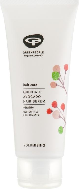"""Сыворотка для легкой фиксации волос """"Киноа"""" - Green People Quinoa&Avocado Hair Serum"""