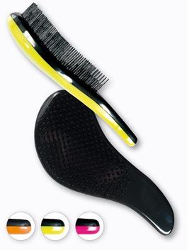 Щетка для волос, 63909 , оранжевая - Top Choice