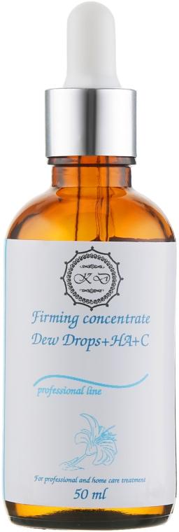 Капли для лица с гиалуроновой кислотой и витамином C - KleoDerma Firming Concentrate Dew Drops + HA+C