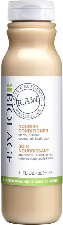 Питающий кондиционер для сухих волос - Biolage R.A.W. Nourish Conditioner